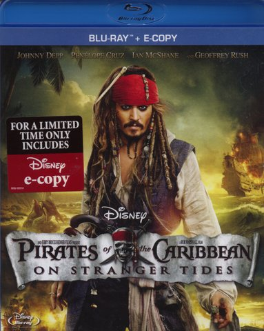 pirates   carribean  blu ray
